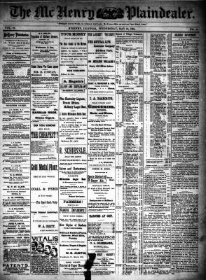 McHenry Plaindealer (McHenry, IL), 16 May 1894