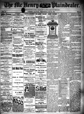 McHenry Plaindealer (McHenry, IL), 30 May 1894