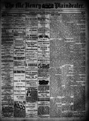 McHenry Plaindealer (McHenry, IL), 6 Jun 1894