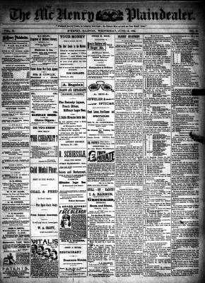 McHenry Plaindealer (McHenry, IL), 13 Jun 1894