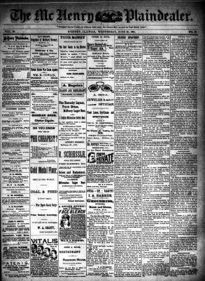 McHenry Plaindealer (McHenry, IL), 20 Jun 1894