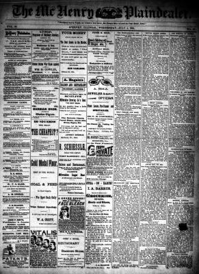 McHenry Plaindealer (McHenry, IL), 4 Jul 1894