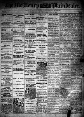 McHenry Plaindealer (McHenry, IL), 18 Jul 1894