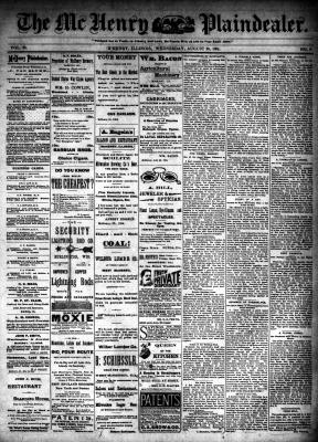 McHenry Plaindealer (McHenry, IL), 29 Aug 1894