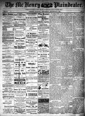 McHenry Plaindealer (McHenry, IL), 5 Sep 1894