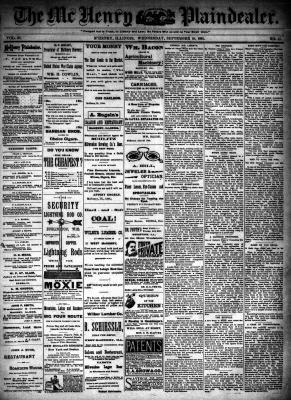 McHenry Plaindealer (McHenry, IL), 19 Sep 1894