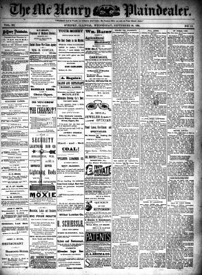 McHenry Plaindealer (McHenry, IL), 26 Sep 1894