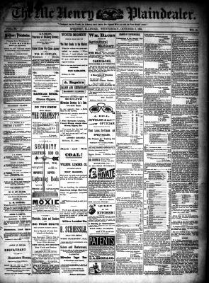 McHenry Plaindealer (McHenry, IL), 3 Oct 1894