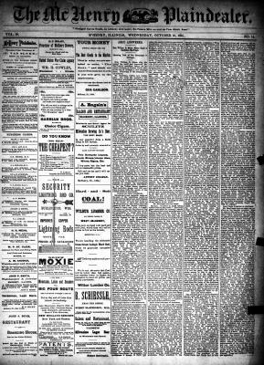 McHenry Plaindealer (McHenry, IL), 10 Oct 1894