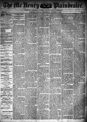 McHenry Plaindealer (McHenry, IL), 17 Oct 1894