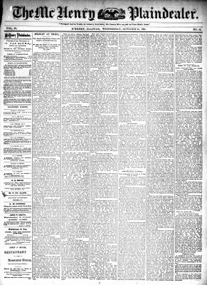 McHenry Plaindealer (McHenry, IL), 24 Oct 1894