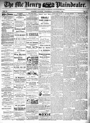 McHenry Plaindealer (McHenry, IL), 31 Oct 1894