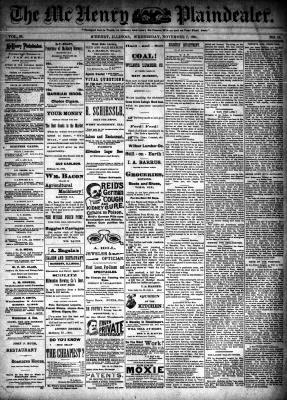 McHenry Plaindealer (McHenry, IL), 7 Nov 1894