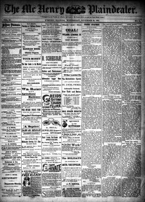 McHenry Plaindealer (McHenry, IL), 28 Nov 1894