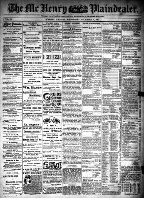 McHenry Plaindealer (McHenry, IL), 19 Dec 1894