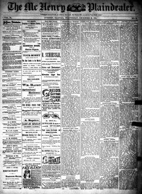 McHenry Plaindealer (McHenry, IL), 26 Dec 1894