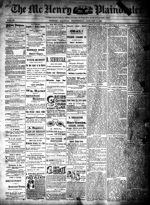 McHenry Plaindealer (McHenry, IL), 9 Jan 1895