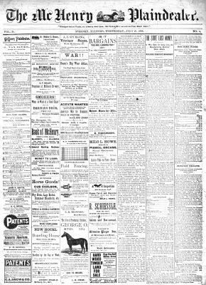 McHenry Plaindealer (McHenry, IL), 27 Jul 1898
