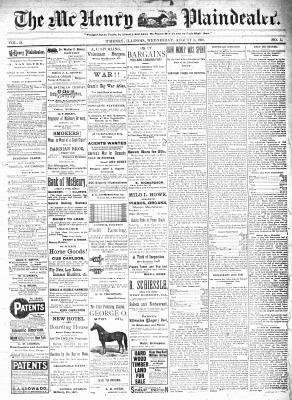 McHenry Plaindealer (McHenry, IL), 3 Aug 1898
