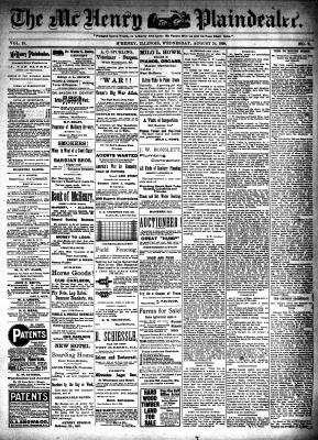 McHenry Plaindealer (McHenry, IL), 31 Aug 1898