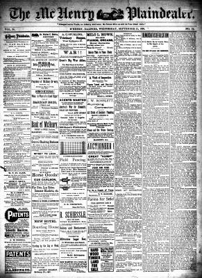 McHenry Plaindealer (McHenry, IL), 21 Sep 1898