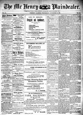 McHenry Plaindealer (McHenry, IL), 16 Nov 1898