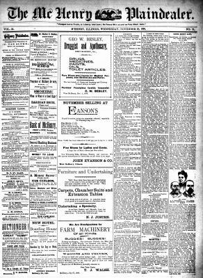 McHenry Plaindealer (McHenry, IL), 23 Nov 1898