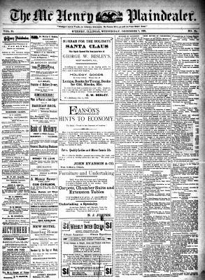 McHenry Plaindealer (McHenry, IL), 7 Dec 1898