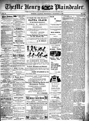 McHenry Plaindealer (McHenry, IL), 14 Dec 1898