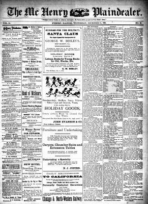 McHenry Plaindealer (McHenry, IL), 21 Dec 1898