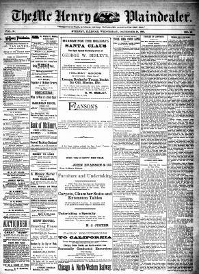 McHenry Plaindealer (McHenry, IL), 28 Dec 1898