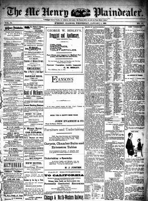 McHenry Plaindealer (McHenry, IL), 4 Jan 1899