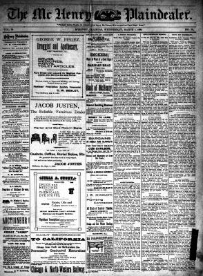 McHenry Plaindealer (McHenry, IL), 1 Mar 1899