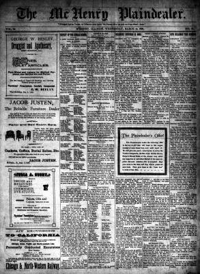 McHenry Plaindealer (McHenry, IL), 15 Mar 1899