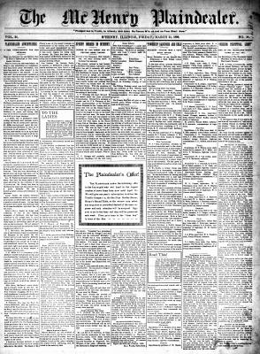 McHenry Plaindealer (McHenry, IL), 24 Mar 1899