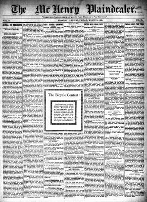McHenry Plaindealer (McHenry, IL), 31 Mar 1899
