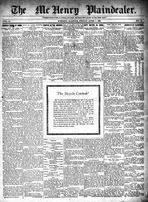 McHenry Plaindealer (McHenry, IL), 7 Apr 1899
