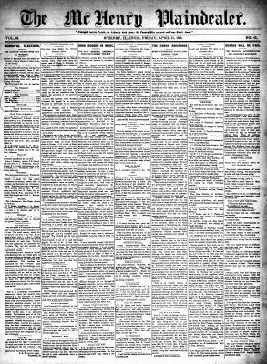 McHenry Plaindealer (McHenry, IL), 21 Apr 1899