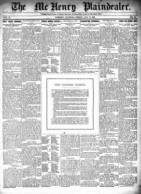 McHenry Plaindealer (McHenry, IL), 19 May 1899