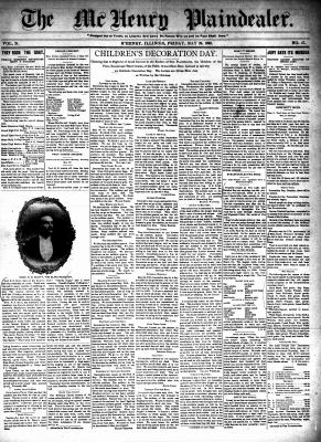 McHenry Plaindealer (McHenry, IL), 26 May 1899