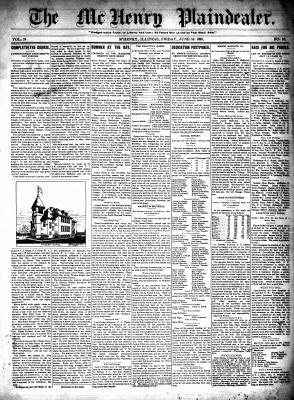 McHenry Plaindealer (McHenry, IL), 16 Jun 1899