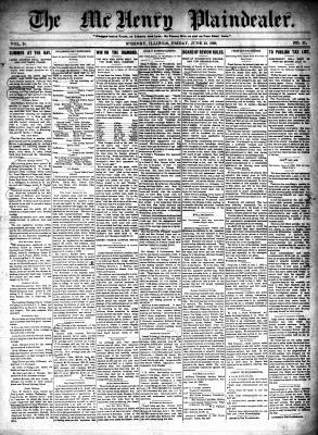 McHenry Plaindealer (McHenry, IL), 23 Jun 1899