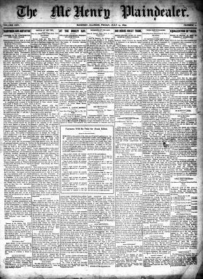 McHenry Plaindealer (McHenry, IL), 14 Jul 1899