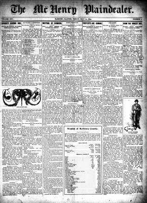 McHenry Plaindealer (McHenry, IL), 21 Jul 1899