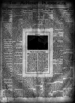 McHenry Plaindealer (McHenry, IL), 31 Aug 1899