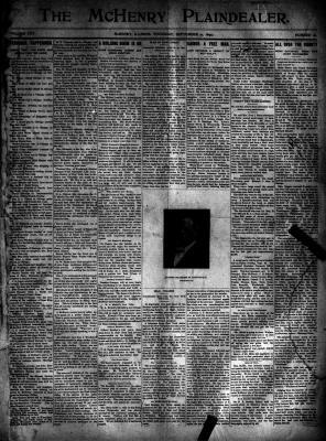 McHenry Plaindealer (McHenry, IL), 21 Sep 1899