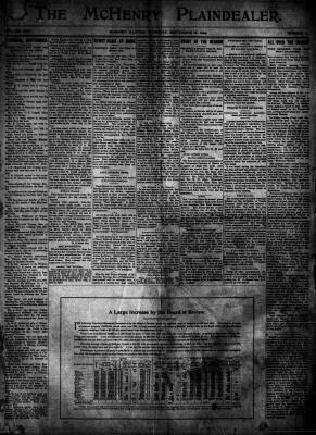 McHenry Plaindealer (McHenry, IL), 28 Sep 1899