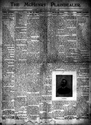 McHenry Plaindealer (McHenry, IL), 2 Nov 1899