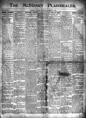 McHenry Plaindealer (McHenry, IL), 16 Nov 1899