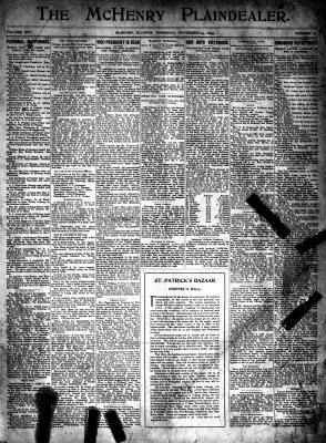 McHenry Plaindealer (McHenry, IL), 23 Nov 1899